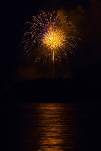 Dillon Reservoir Fireworks 2015 57 by D Scott Smith