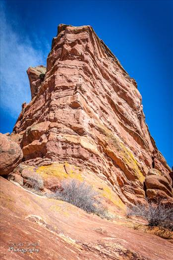 Red Rocks by D Scott Smith