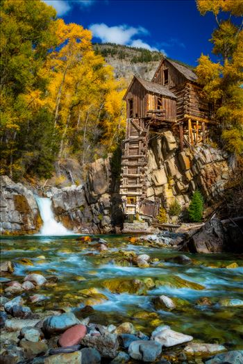 Crystal Mill, Colorado 11 by D Scott Smith
