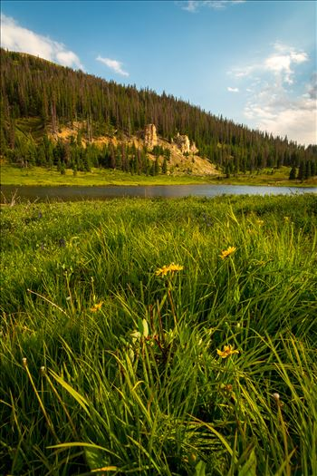 Poudre Lake by D Scott Smith