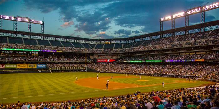 Summertime at Coors Field -