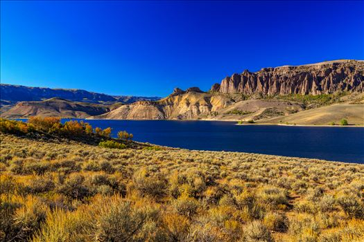 Dillon Pinnacles and Gunnison River by D Scott Smith