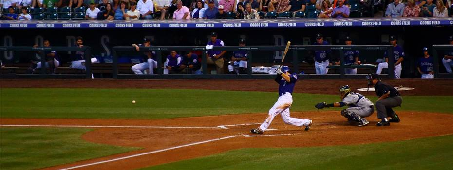 The Rockies Hit a Line Drive -