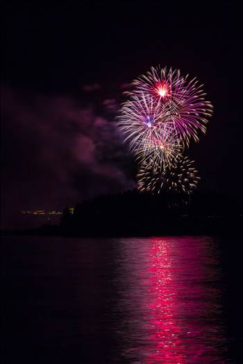 Dillon Reservoir Fireworks 2015 30 by D Scott Smith