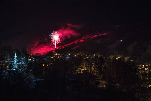 New Years Eve in Vail - A frigid end to 2015 in Vail, Colorado.