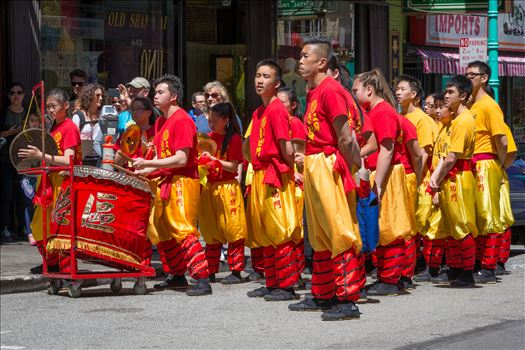 Chinatown Street Performance by D Scott Smith