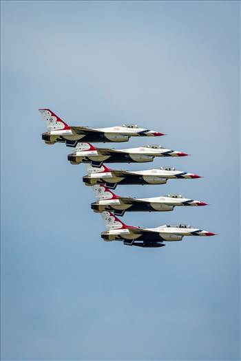 USAF Thunderbirds 25 by D Scott Smith