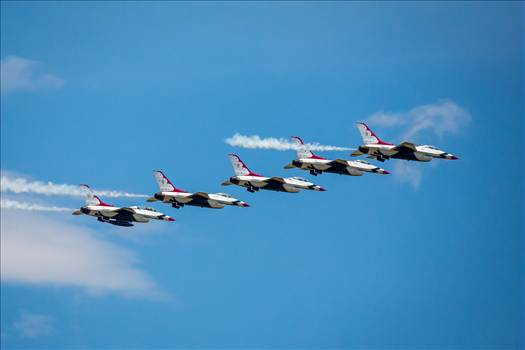 USAF Thunderbirds 7 by D Scott Smith