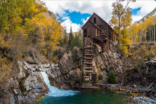 Crystal Mill, Colorado 03 by D Scott Smith