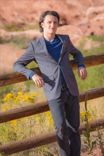 Ryan Fredericks - Senior Session 40 by D Scott Smith