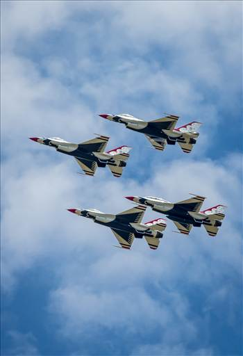 USAF Thunderbirds 16 by D Scott Smith