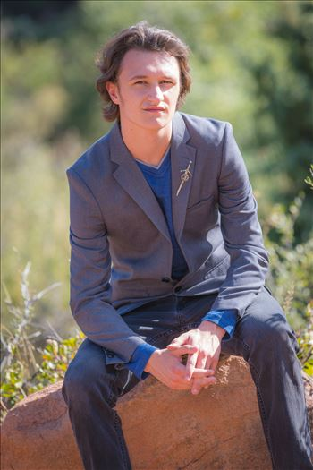 Ryan Fredericks - Senior Session 21 by D Scott Smith