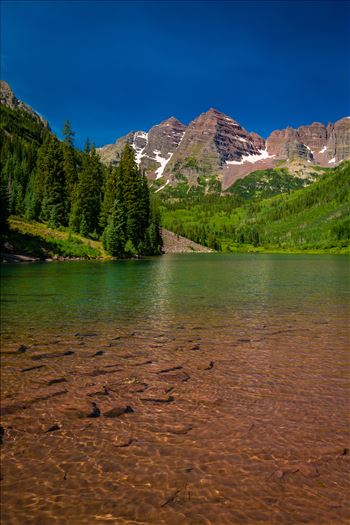 Maroon Bells in Summer No 06 by D Scott Smith