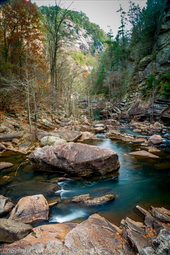 Tallulah Gorge Downstream by D Scott Smith