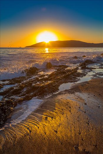 Sunset at Shell Beach 2 by D Scott Smith