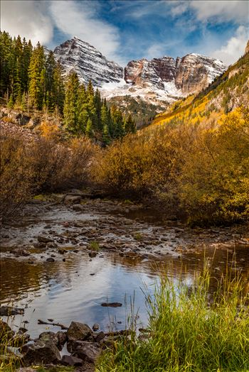 Maroon Bells 4 by D Scott Smith