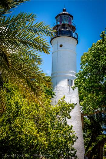 Key West Lighthouse by D Scott Smith