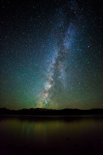 Milky Way at Turquoise Lake by D Scott Smith