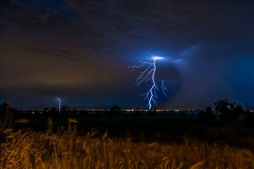 Lightning Flashes 6 by D Scott Smith