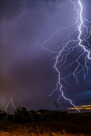 Lightning Flashes 9 by D Scott Smith