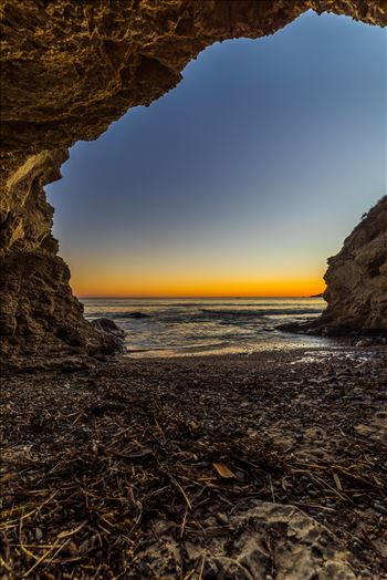 Sunset at Shell Beach 3 by D Scott Smith