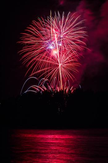 Dillon Reservoir Fireworks 2015 58 by D Scott Smith
