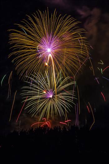 Dillon Reservoir Fireworks 2015 10 -
