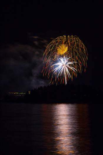 Dillon Reservoir Fireworks 2015 15 by D Scott Smith