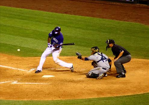 The Rockies Swing Away -