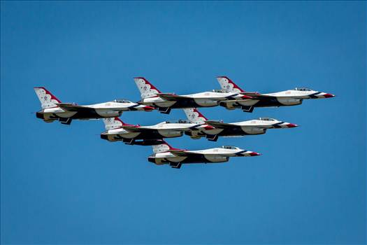 USAF Thunderbirds 15 by D Scott Smith