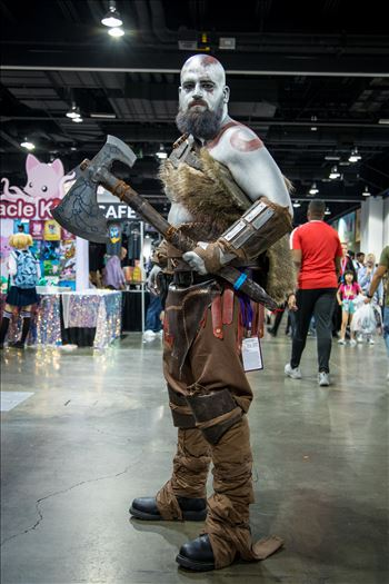 God of War at Denver Comic Con 2018 by D Scott Smith
