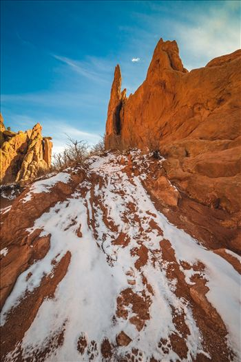 Garden of the Gods Spires No 1 by D Scott Smith
