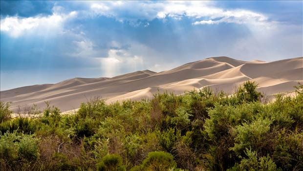 Great Sand Dunes 12 by D Scott Smith