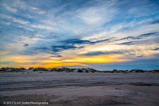 Dunes at Sunset by D Scott Smith