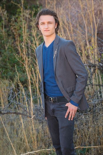 Ryan Fredericks - Senior Session 03 by D Scott Smith