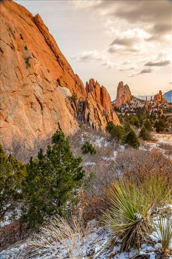 Garden of the Gods Spires No 3 by D Scott Smith