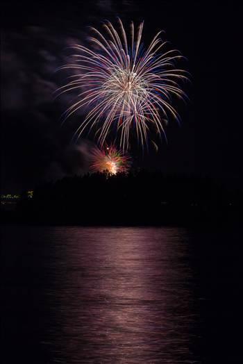 Dillon Reservoir Fireworks 2015 42 -