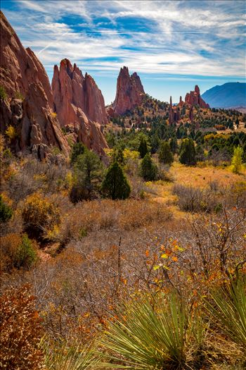 Garden of the Gods Spires by D Scott Smith