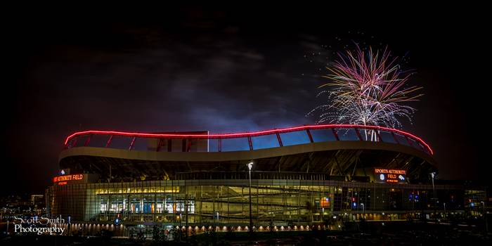 Fourth of July at Mile High by D Scott Smith