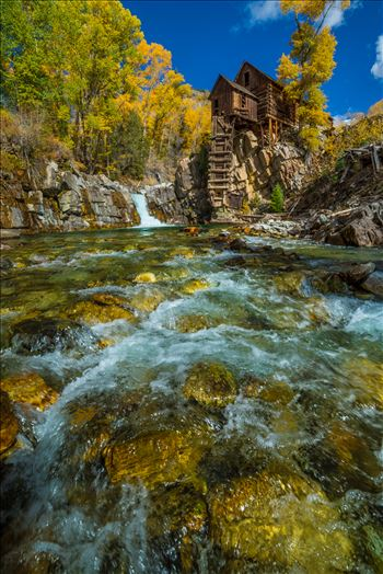 Crystal Mill, Colorado 02 by D Scott Smith