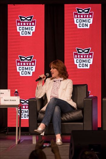 Molly Ringwald at Denver Comic Con 2018 by D Scott Smith