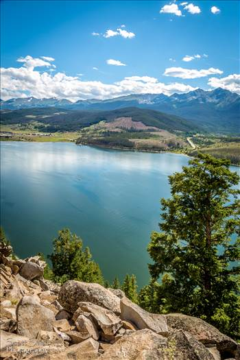 Lake Dillon from Sapphire Trail by D Scott Smith