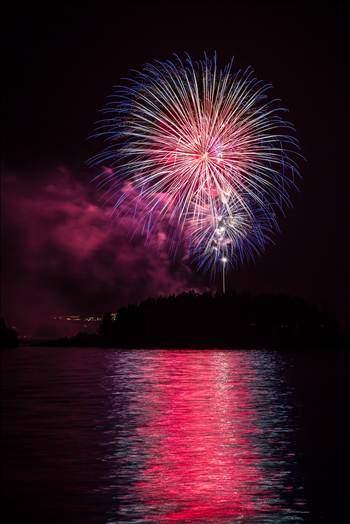Dillon Reservoir Fireworks 2015 24 by D Scott Smith