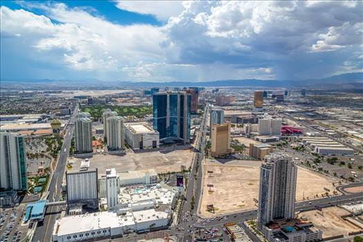 Vegas from the Stratosphere IV by D Scott Smith