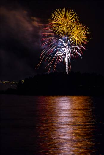 Dillon Reservoir Fireworks 2015 44 by D Scott Smith