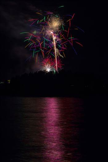 Dillon Reservoir Fireworks 2015 39 by D Scott Smith